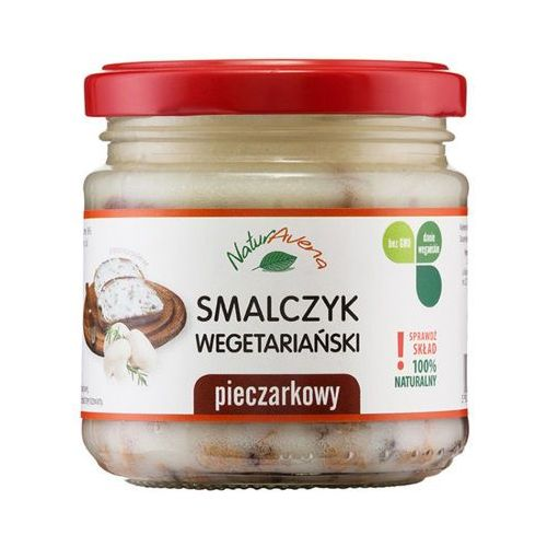 160g smalczyk wegetariański pieczarkowy marki Naturavena