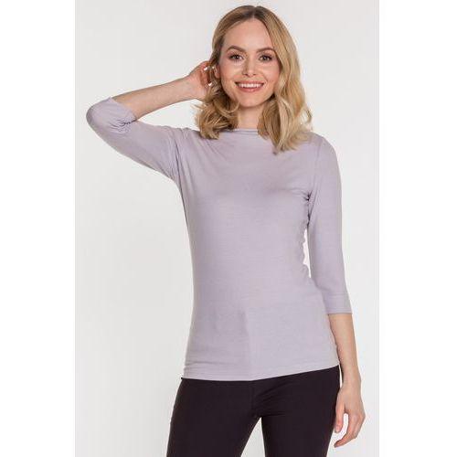 Szara bluzka basic - Ryba, 1 rozmiar