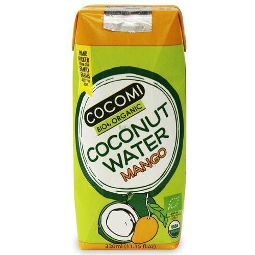 Cocomi (wody kokosowe, oleje kokosowe, śmietanki) Woda kokosowa o smaku mango bio 330 ml - cocomi (4792038504013)