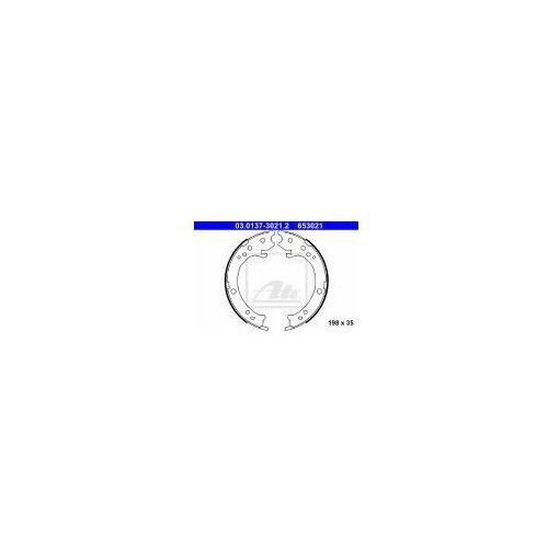 ATE Zesatw szczęk hamulcowych, hamulec postojowy - 03.0137-3021 - sprawdź w wybranym sklepie