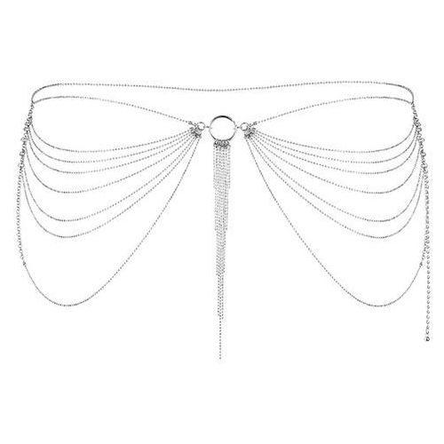 Bijoux indiscrets Niezwykła ozdoba pas z łańcuszków -  magnifique waist jewelry srebrny