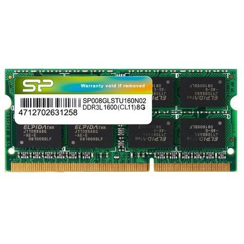 Silicon power Ddr3 sodimm 8gb/1600 cl11 (512*8) low voltage (4712702631258)