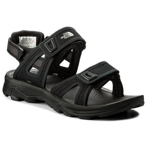 Sandały - hedgehog sandal ii t0cxs5lq6 tnf black/vintage white marki The north face