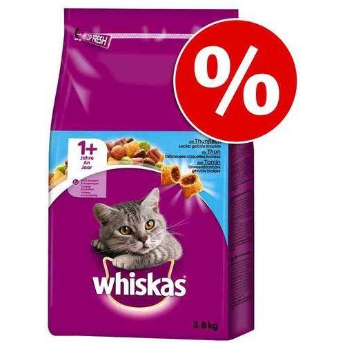 Whiskas 3,8 kg  1+ w super cenie! - z jagnięciną (5900951258725)