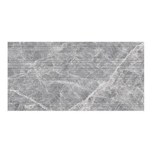 Ceramstic Dekor lavre waves 30 x 60 cm ciemnoszary 1,44 m2