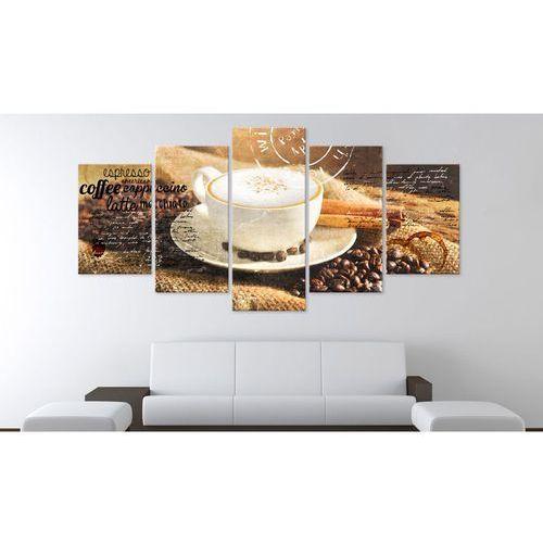 Not specified Obraz - Coffe, Espresso, Cappuccino, Latte machiato... (5902130700933)