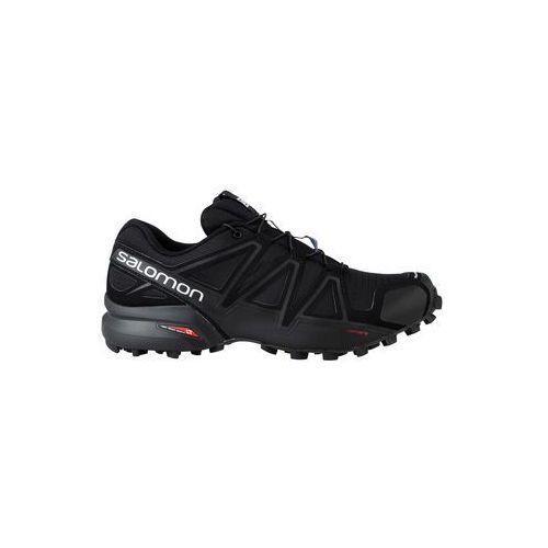 Salomon Buty trailowe speedcross 4 - black/black/black metallic