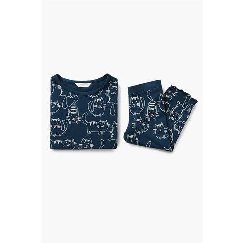 - piżama dziecięca tiza 110-164 cm marki Mango kids