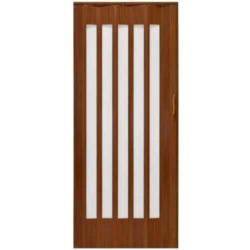 Drzwi Harmonijkowe JK 033S 304 Orzech Mat 85cm, GK-0228