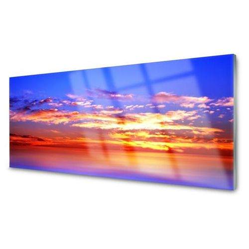 Panel kuchenny niebo chmury morze krajobraz marki Tulup.pl