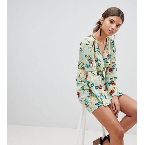PrettyLittleThing Kimono Sleeve Dress - Multi