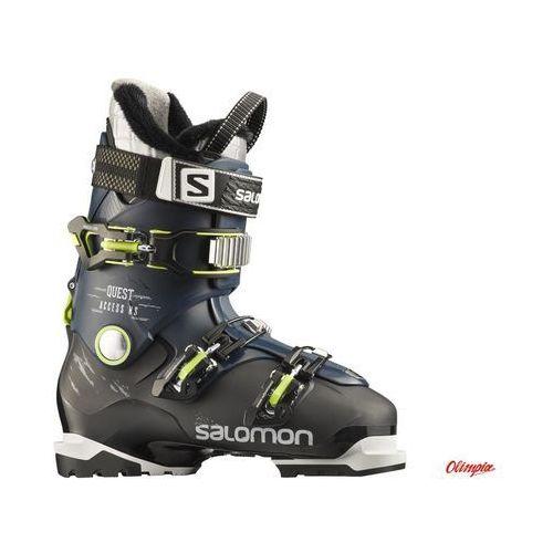 Salomon Buty narciarskie quest access hs 2016/2017 czarny-niebieski