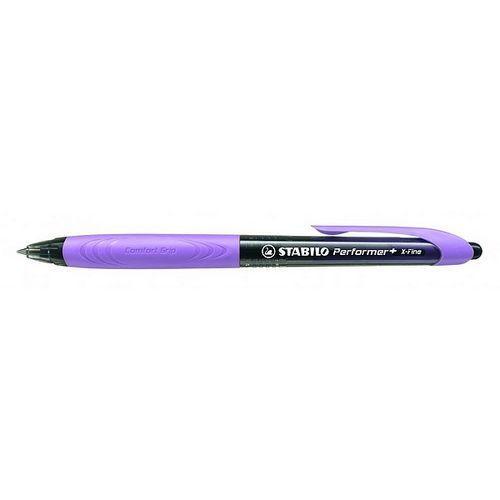 Długopis STABILO Performer+ czarny/fioletowy 328/3-46-3