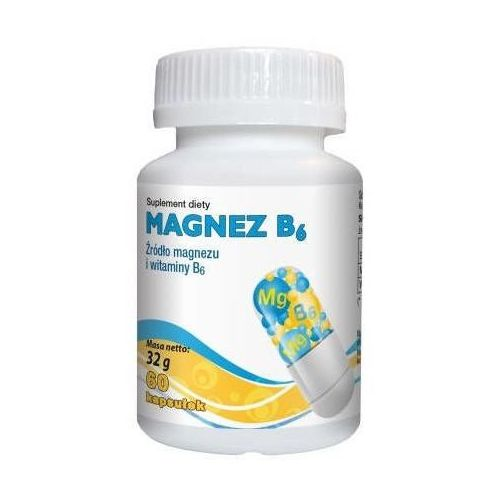 Kapsułki Magnez B6 x 60 kapsułek