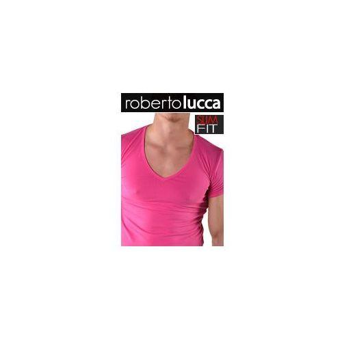V koszulka slim fit 70223 01423 marki Roberto lucca