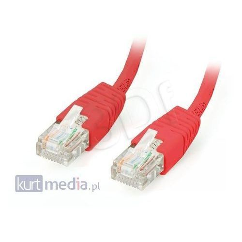 Patch cord UTP kat. 5e 2m czerwony Gembird