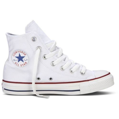 Converse unisex chuck taylor all star canvas hi-top trainers - optical white - uk 9
