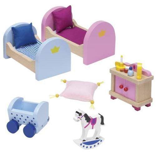 Mebelki do domku zamku królewskiego - pokój dla dzieci