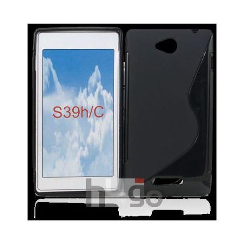 Futerał Back Case S-Line Sony Xperia C c2305 Czarny, kolor czarny