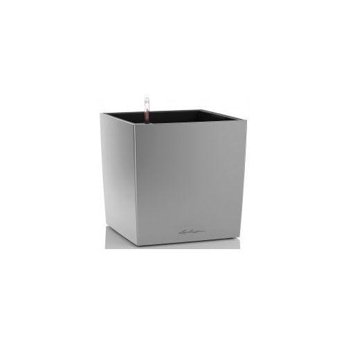 Srebrna Doniczka Z Nawadnianiem Cube 30 Metalik Marki