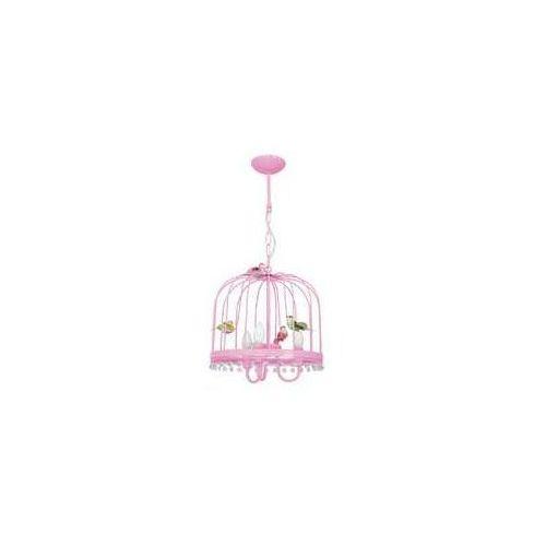 canaria mlp6504 lampa wisząca zwis 3x40w e14 różowa marki Milagro