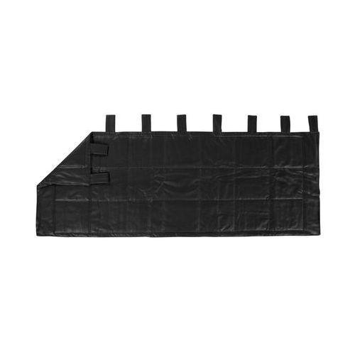 Linder Zagłówek weston czarny 160 x 70 cm (3083293091884)