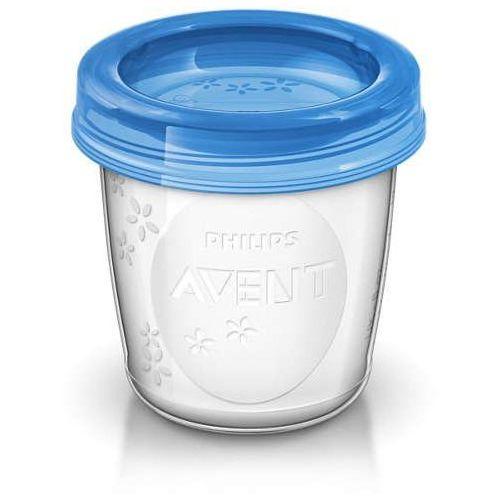Pojemnik na mleko / pokarm Avent 180 ml razem z przykrywką (1 szt.) (5012909012584)