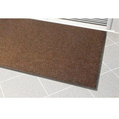 Mata wychwytująca brud, żebrowana, dł. x szer. 1200x900 mm, brązowa. solidna mat marki Coba plastics