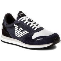 Emporio armani Sneakersy - x4x215 xl200 a034 blue/dept blu/blk