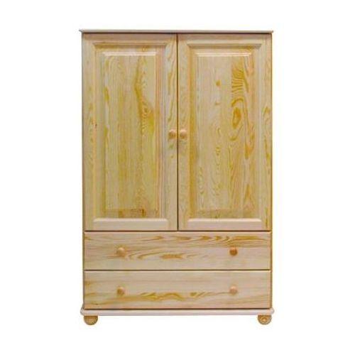 Meblo-drew Szafa ii-drzwiowa + szuflady dla dziecka c72