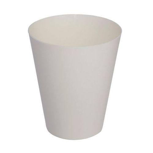 Osłonka do storczyka 12.7 cm plastikowa kremowa VULCANO (5907474332963)