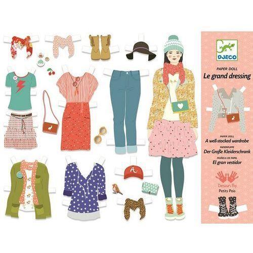 Zestaw do projektowania ubrań - darmowa dostawa kiosk ruchu marki Djeco