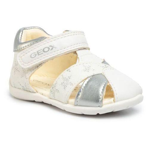 Sandały GEOX - B Elthan G. A B021QA 01054 C0007 White/Silver