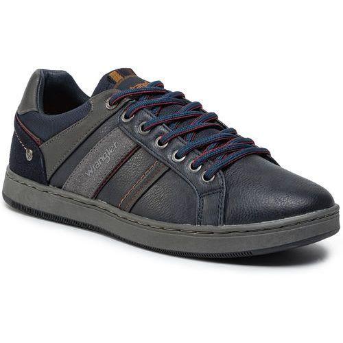 Sneakersy WRANGLER - Marshall Paso WM92120A Navy 016, w 7 rozmiarach