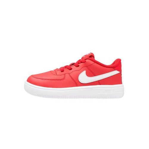Nike Sportswear FORCE 1 Półbuty wsuwane university red/white