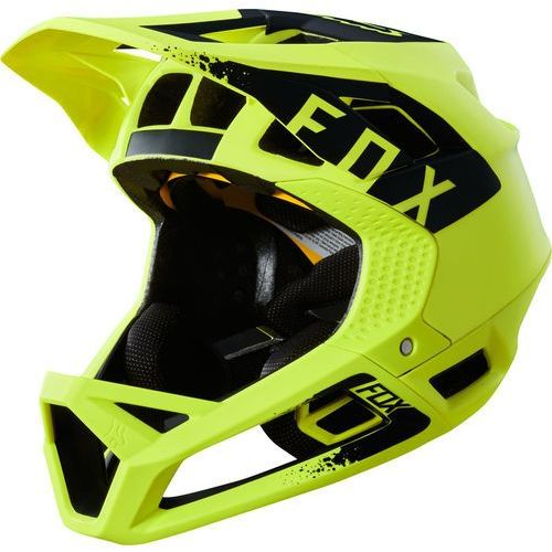 Fox Proframe Mink Kask rowerowy Mężczyźni żółty L | 58-61cm 2018 Kaski rowerowe