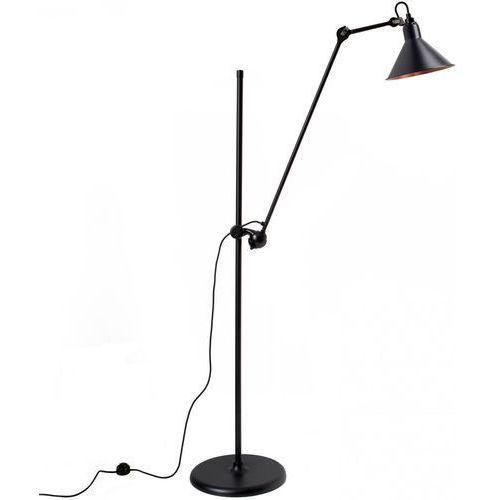 n°215 - lampa podłogowa - czarny/czarny/miedziany marki Lampe gras