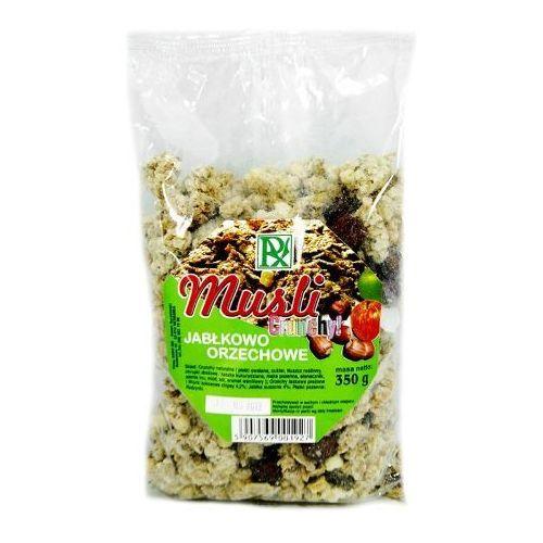 Musli crunchy jabłkowo-orzechowe 350g radix marki Radix bis
