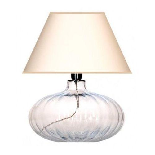 Lampa stołowa brno z kloszem w kolorze ecru, l006011211 marki 4 concepts