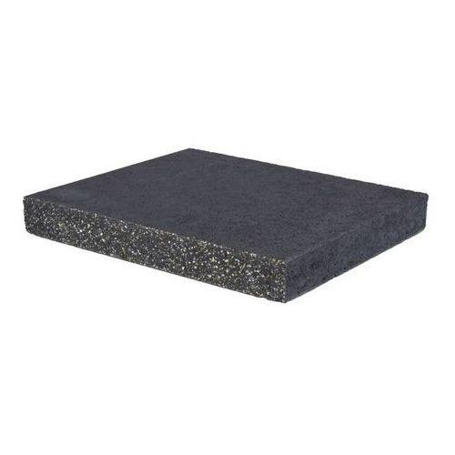 Daszek płaski 6 x 42 x 42 cm czarny (5901874926920)