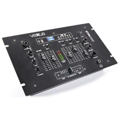 stm2500 5-kanałowy stół mikserski bluetooth usb mp3 eq phono marki Vexus