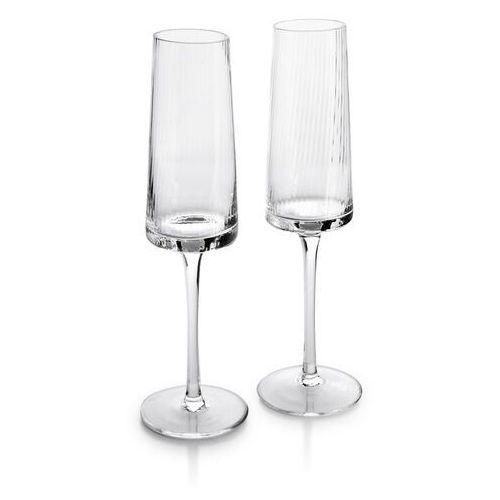Mada clear kpl. 2 kieliszków do szampana 220ml 4.6x7xh24cm marki Sofa.pl