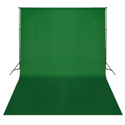 system zawieszenia tła z zielonym tłem 500 x 300 cm marki Vidaxl