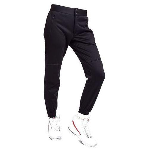 Damskie spodnie trekkingowe h4z17 spdt001 czarny xl marki 4f