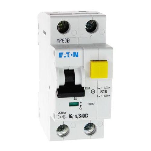 Wyłącznik różnicowoprądowy z członem nadprądowym ckn6 2p b 16a 30ma typ ac 241114 electric marki Eaton