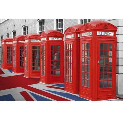 Czerwone Budki Telefoniczne - Londyn Wielka Brytania - plakat - produkt z kategorii- Plakaty