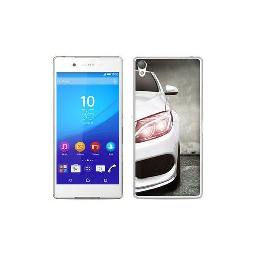 etuo Foto Case - Sony Xperia Z3+ - etui na telefon Foto Case - biały samochód, ETSN197FOTOFT031000