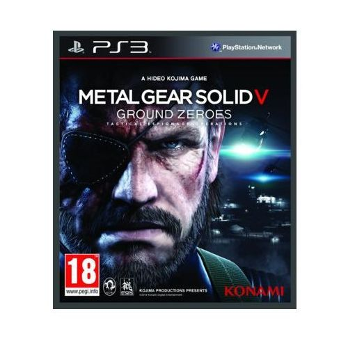 Metal Gear Solid 5 Ground Zeroes (PS3)
