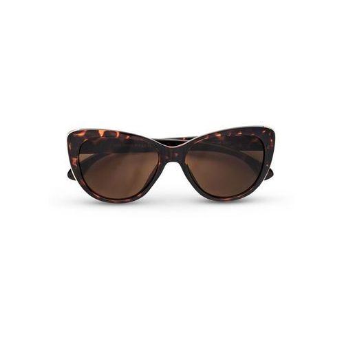 """Okulary przeciwsłoneczne """"Cateye"""" bonprix brązowy"""