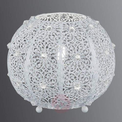 bajo lampa stołowa biały, 1-punktowy - vintage - obszar wewnętrzny - bajo - czas dostawy: od 4-8 dni roboczych marki Trio